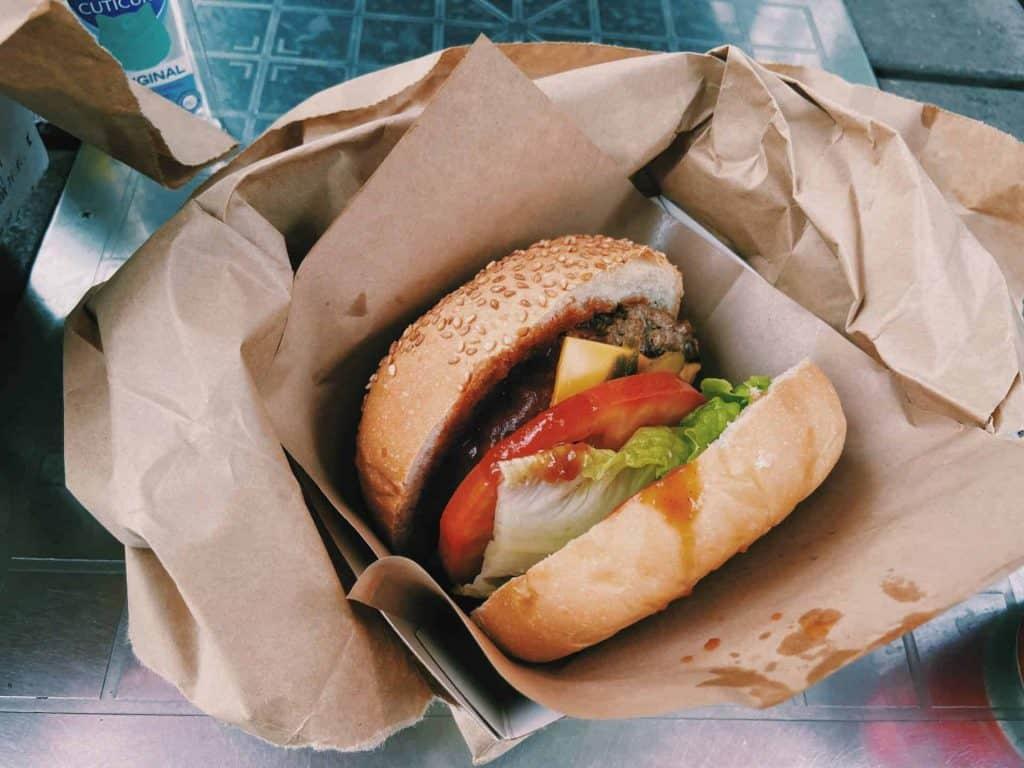 威威美食 屯門好味漢堡包 3