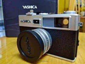 Yashica Y35 開箱