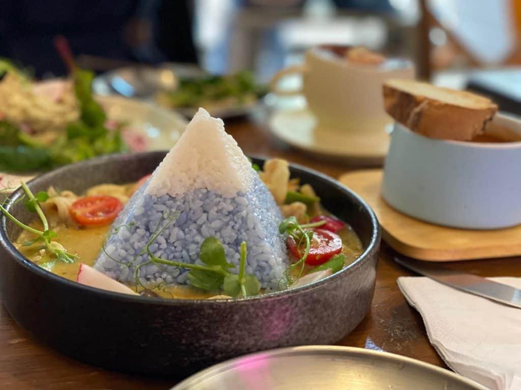 富士山黑豚肉咖喱飯