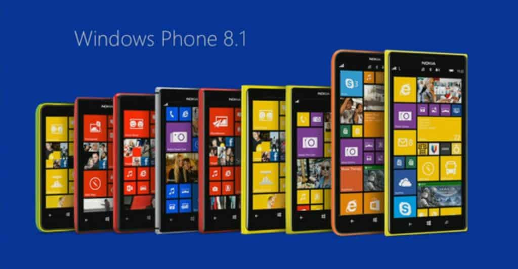 Windows Phone Homescreen
