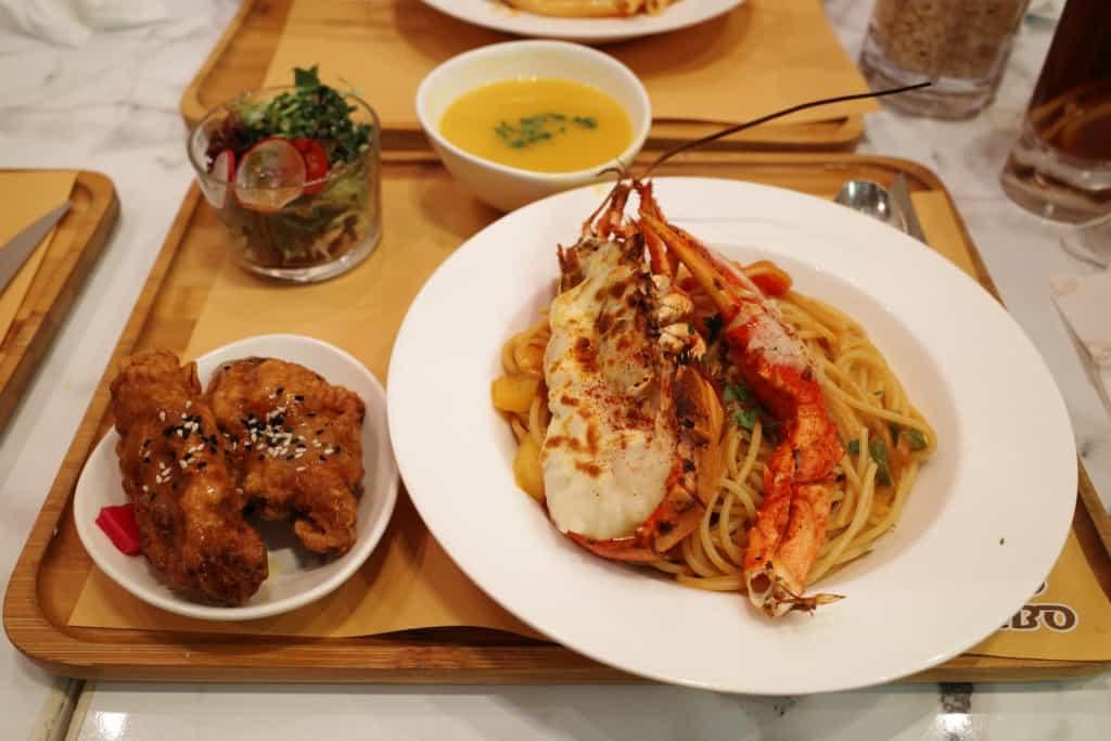屯門黃店_Food Combo_龍蝦意粉