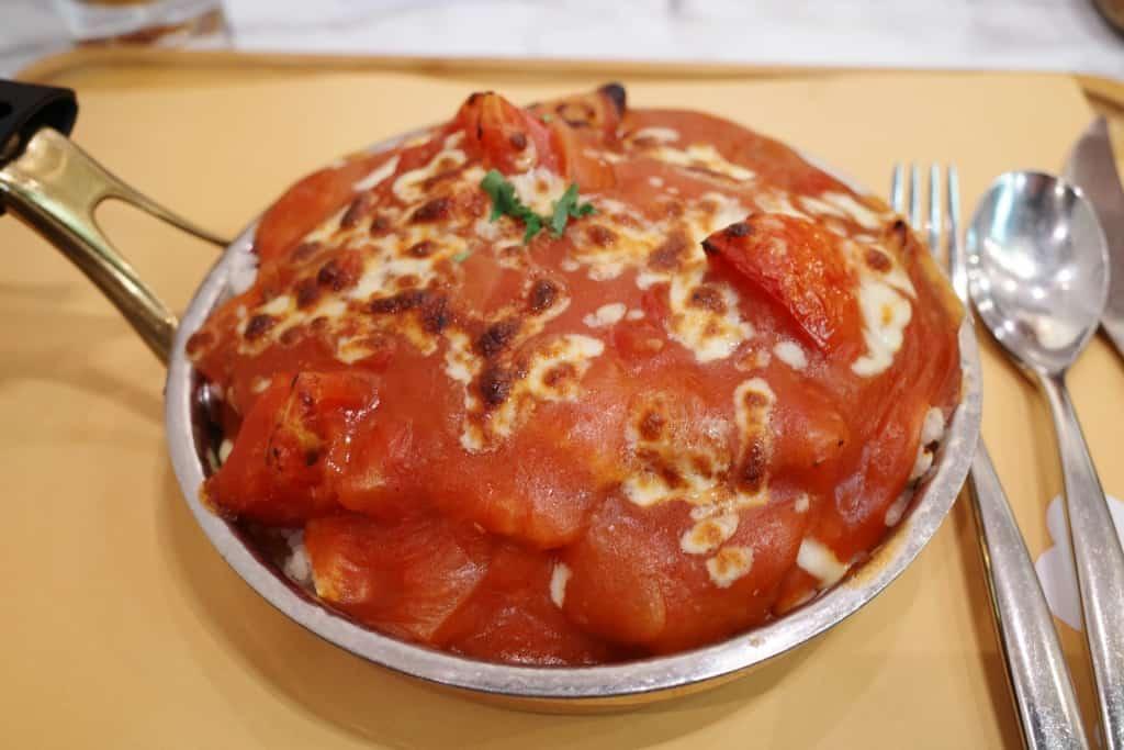 屯門黃店_Food Combo_鮮茄焗豬扒飯