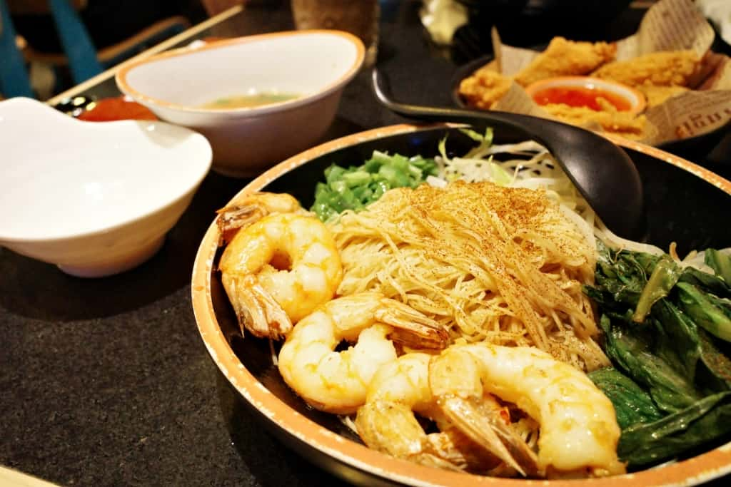 沙田黃店:Mimila-三蝦撈蝦籽麵