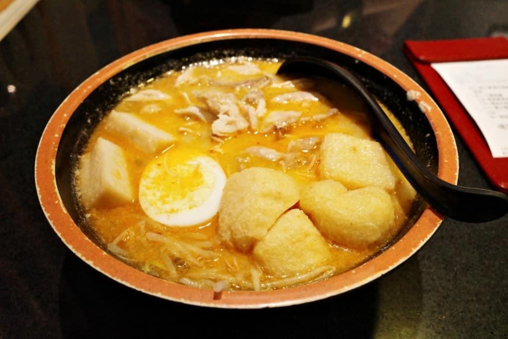 沙田黃店:Mimila-喇沙湯配手撕雞摻摻