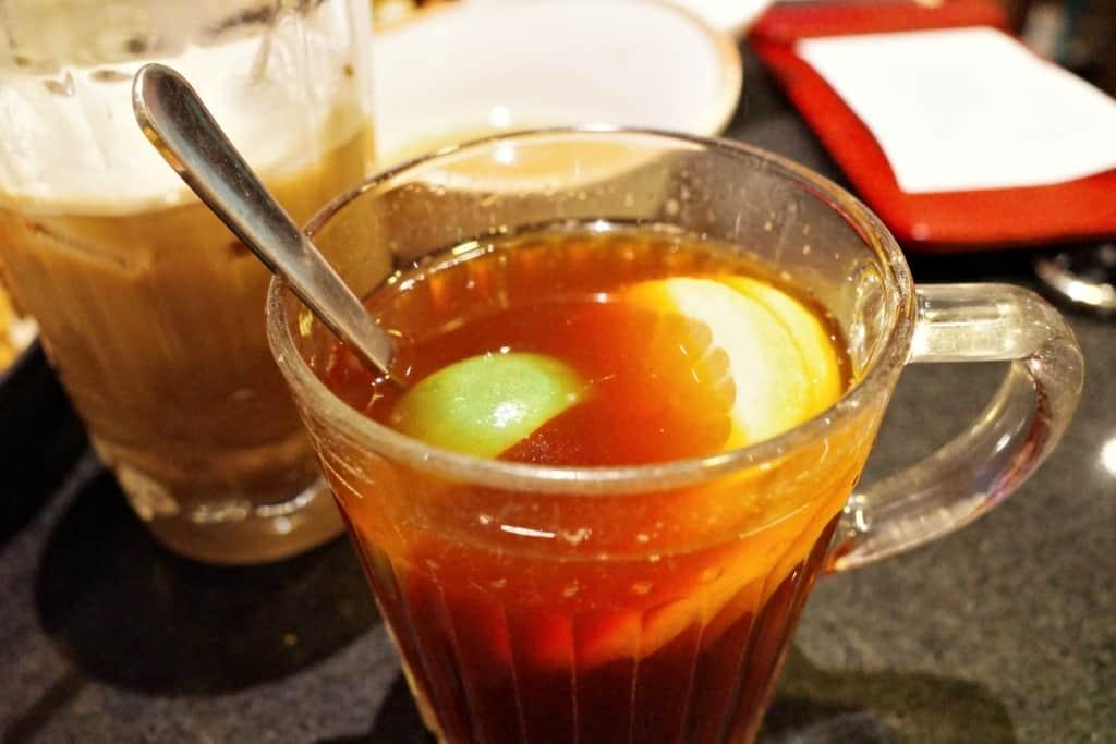沙田黃店:Mimila-熱薑汁檸茶