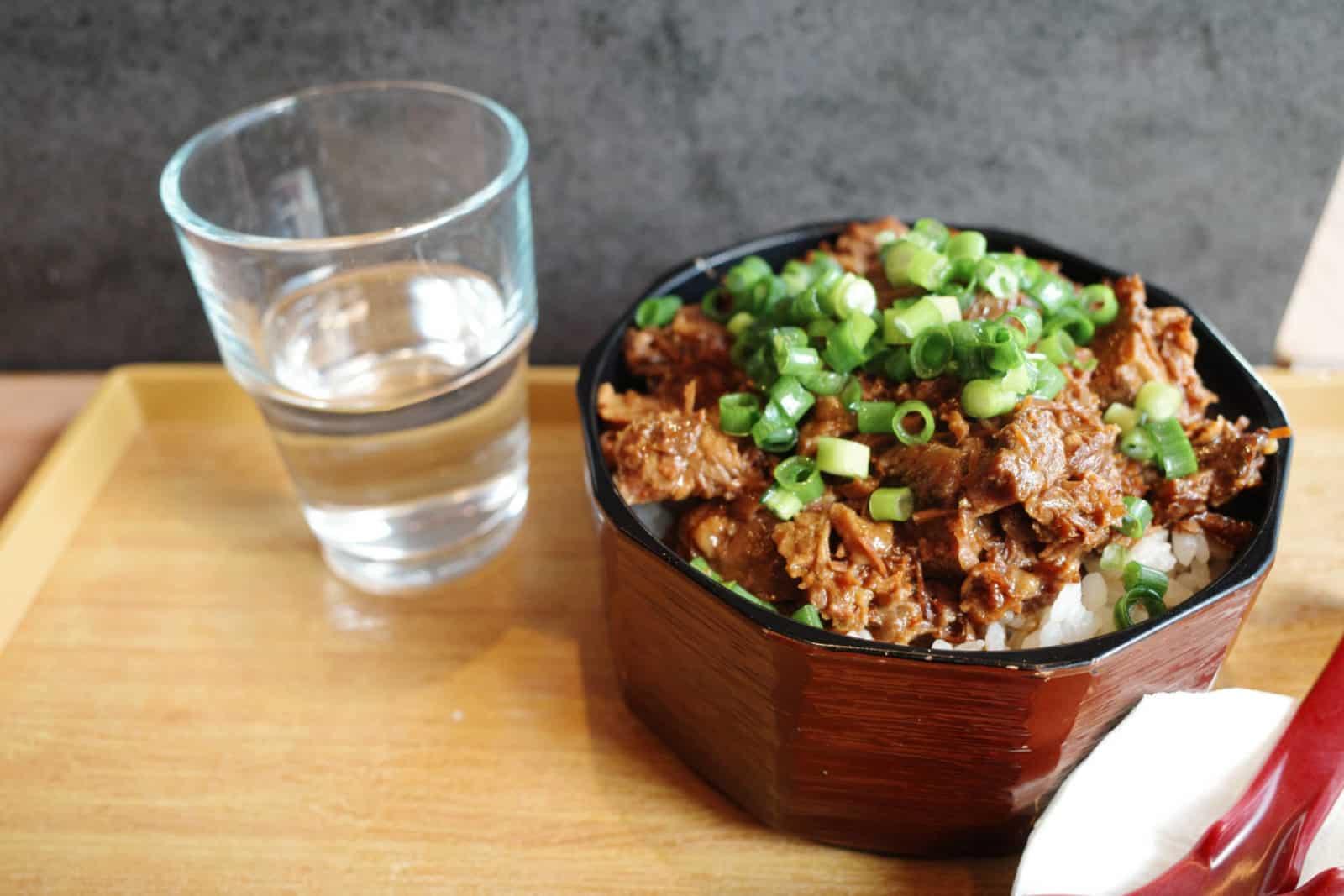CHI Tachinomi - 大阪牛肉飯