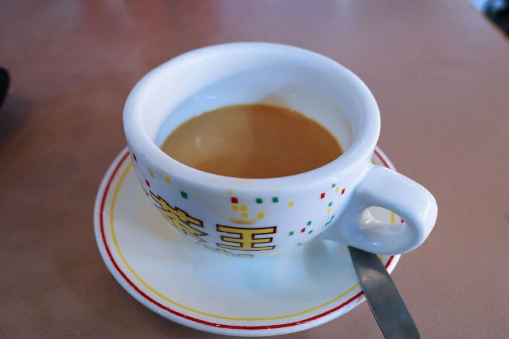老虎岩:奶茶