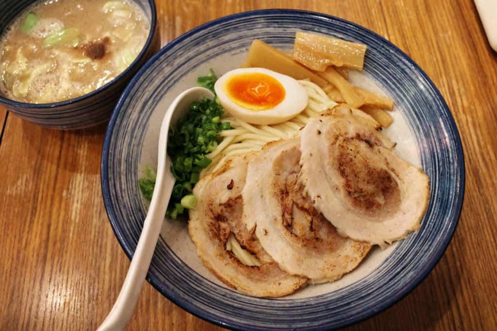 尖沙咀黃店:鶴亀_特濃豚骨沾麵