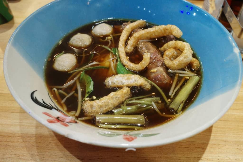 阿叔泰麵:牛肉船麵
