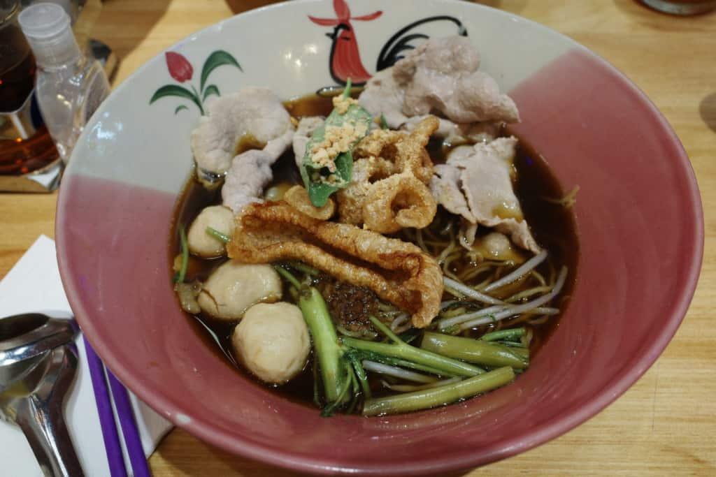 阿叔泰麵:豬肉船麵