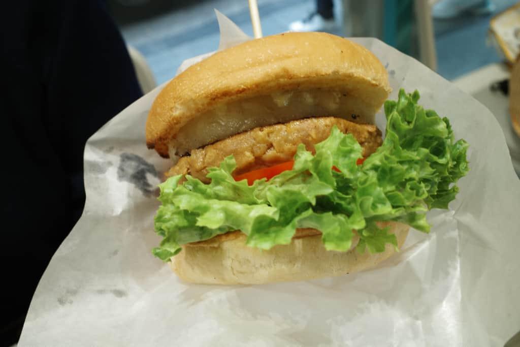 嘉寶漢堡: 蜜糖芥末菠蘿豬堡