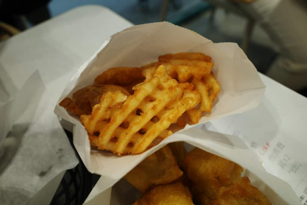 嘉寶漢堡: 薯格