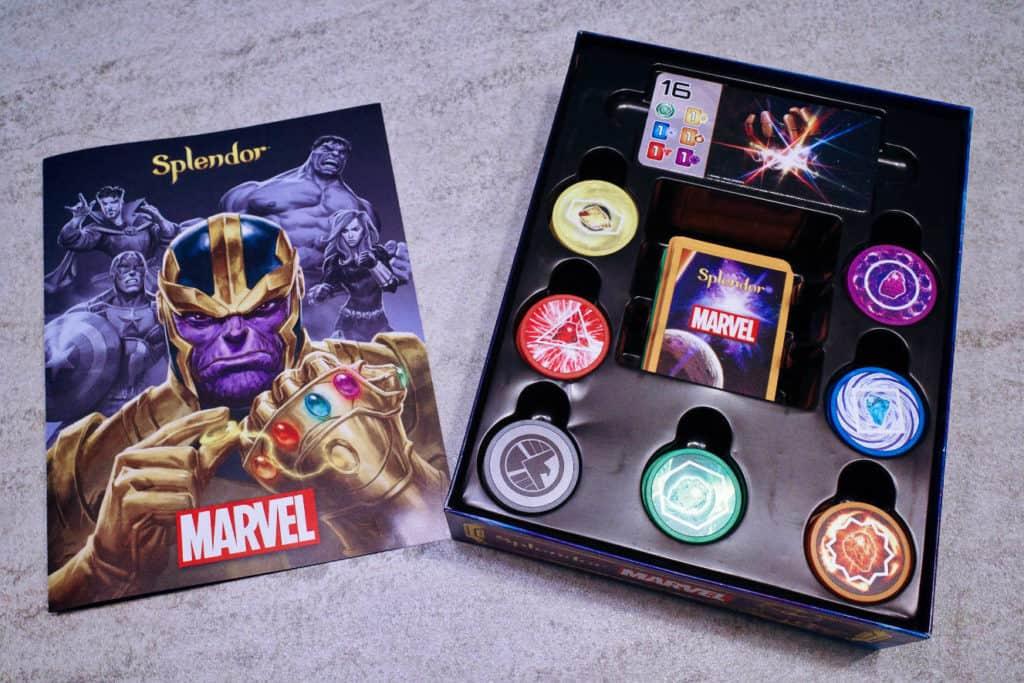 Splendor璀璨寶石-Marvel版:開箱