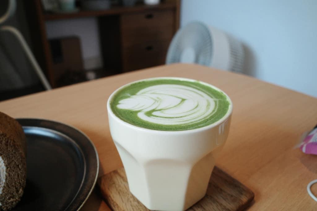 Heima Heima: 綠茶Latte