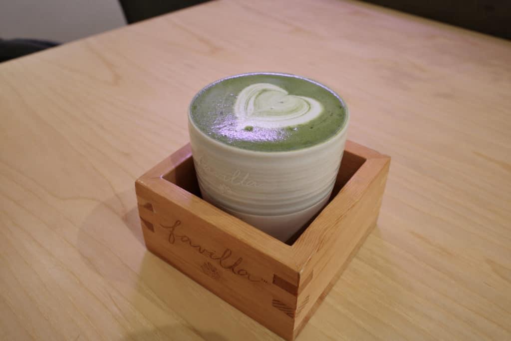 凍抹茶Lattee