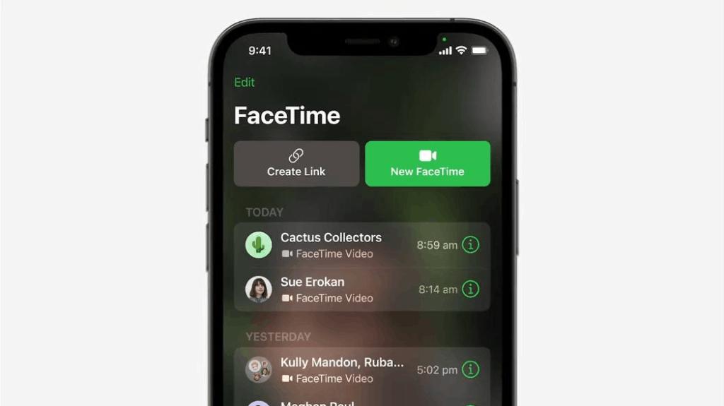 FaceTime 更新:跨平台設備都用到