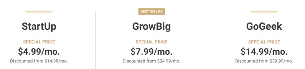 SiteGround續約價錢幾倍上升